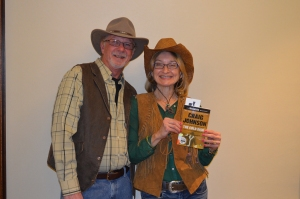 Photo of Lori Ann Barnes and Gene Walker